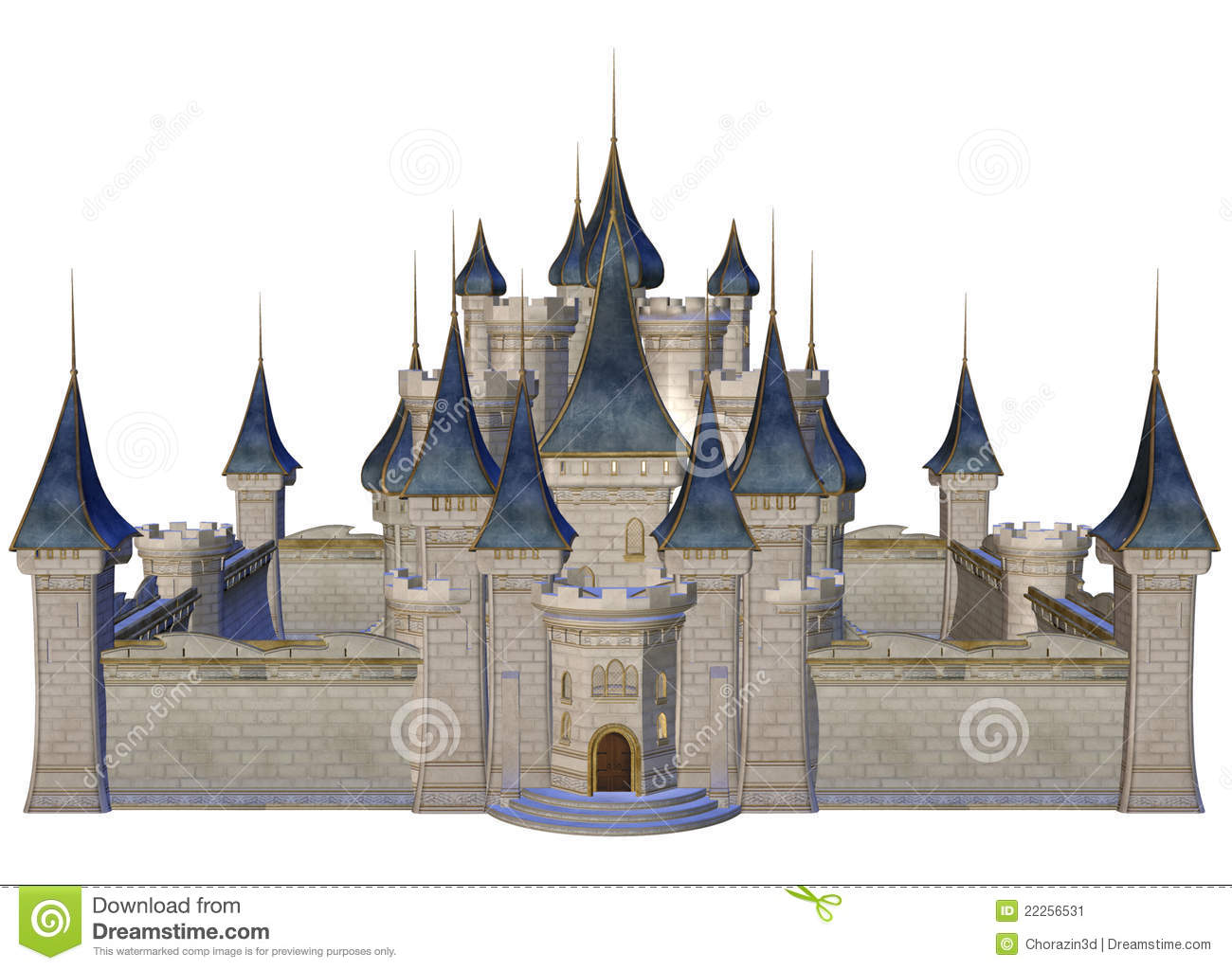 Fantasy castle clipart 2 » Clipart Station.
