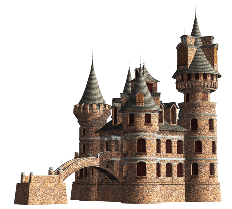 Download Free png Fantasy Castle Clipart.
