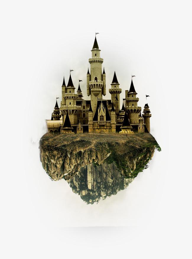 Fantasy Castle Vector Material, Vector, #163703.