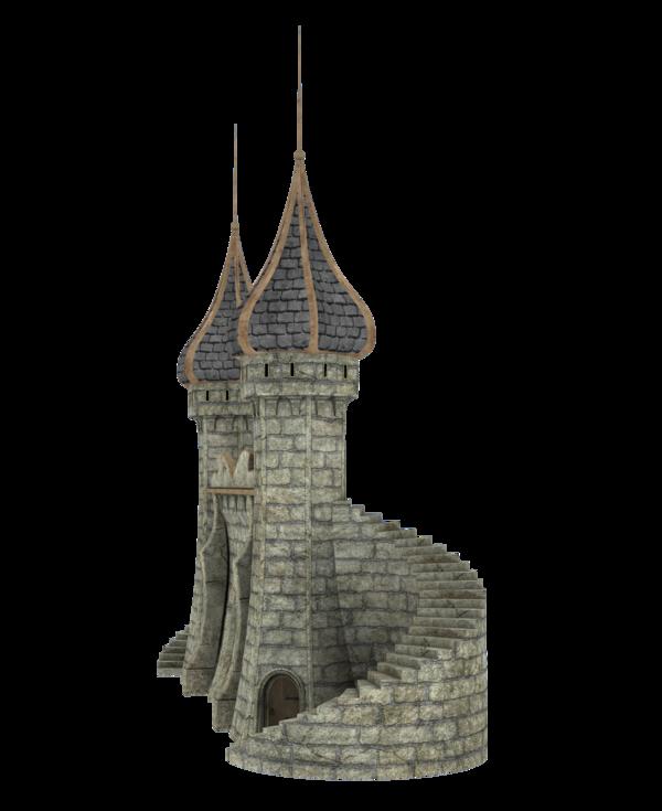 Download Fantasy Castle Image HQ PNG Image.