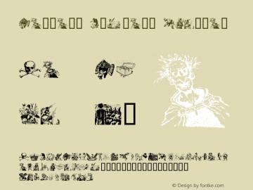Fantasy Clipart Font,FantasyClipart Font.