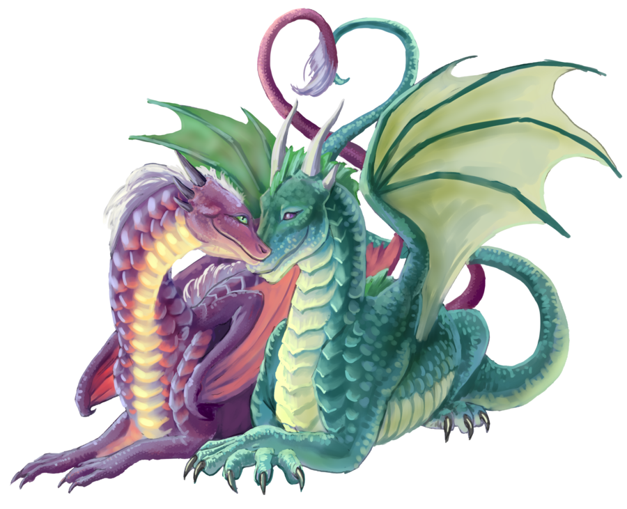 deviantART: More Like Rainbow Dragon 2 by.