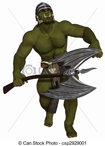 Clipart of Orc.