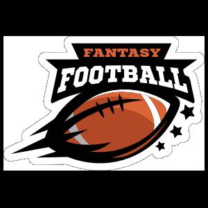 Fantasy Football Sticker.