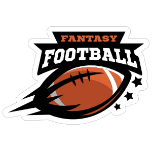 Fantasy Football Sticker.