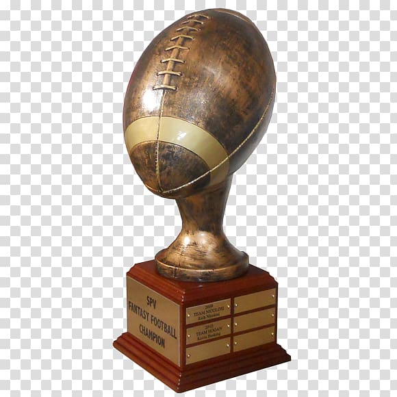 Trophy Fantasy football Award American football Fantasy.