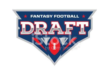 Fantasy Football Draft Clipart Image.