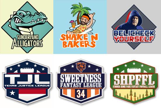 make a logo for your fantasy football team.