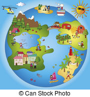 Fantasy world Illustrations and Clip Art. 11,974 Fantasy world.