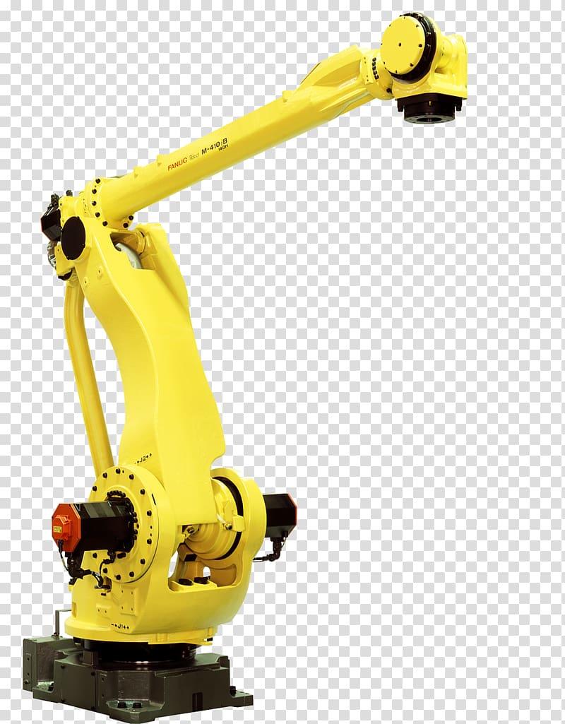 Industrial robot FANUC Palletizer Industry, Robotics.
