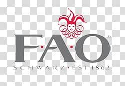 F.A.O Schwarz logo, FAO Schwarz Logo transparent background.