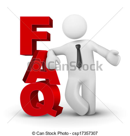 Frequently asked questions Clipart Vector and Illustration. 1,000.