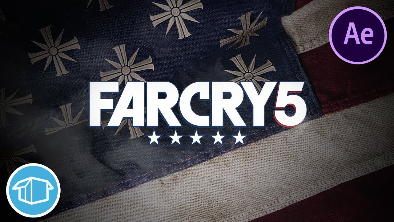 Far Cry 5 Smoke Logo Reveal.