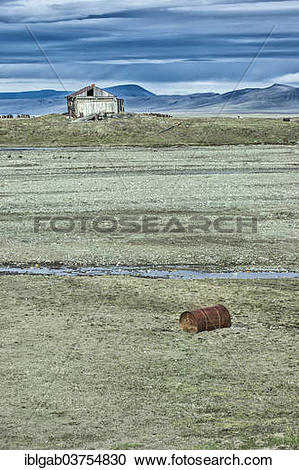 "Stock Photography of ""Derelict house, Doubtful Village, Doubtful."