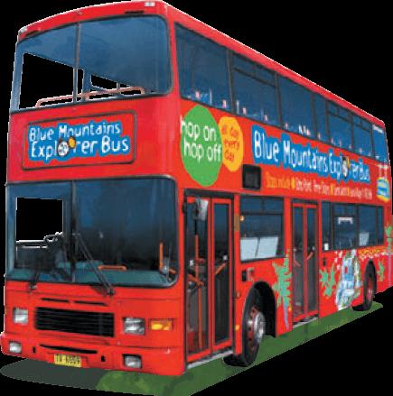 Blue Mountains Explorer Bus.