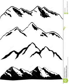 free mountain clipart.