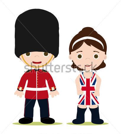 London Guards Clipart.