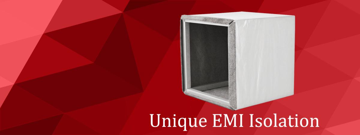 Custom EMI Cancelling Faraday Cages.