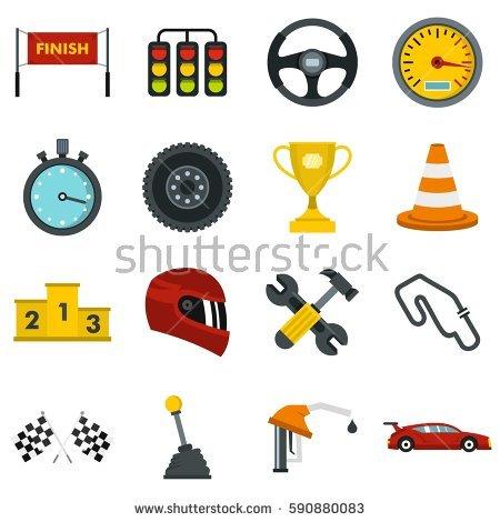 Car Dashboard Vector Icons Stock Vector 160600145.