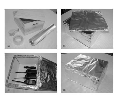 Build Your Own Faraday Cage. Here's How..