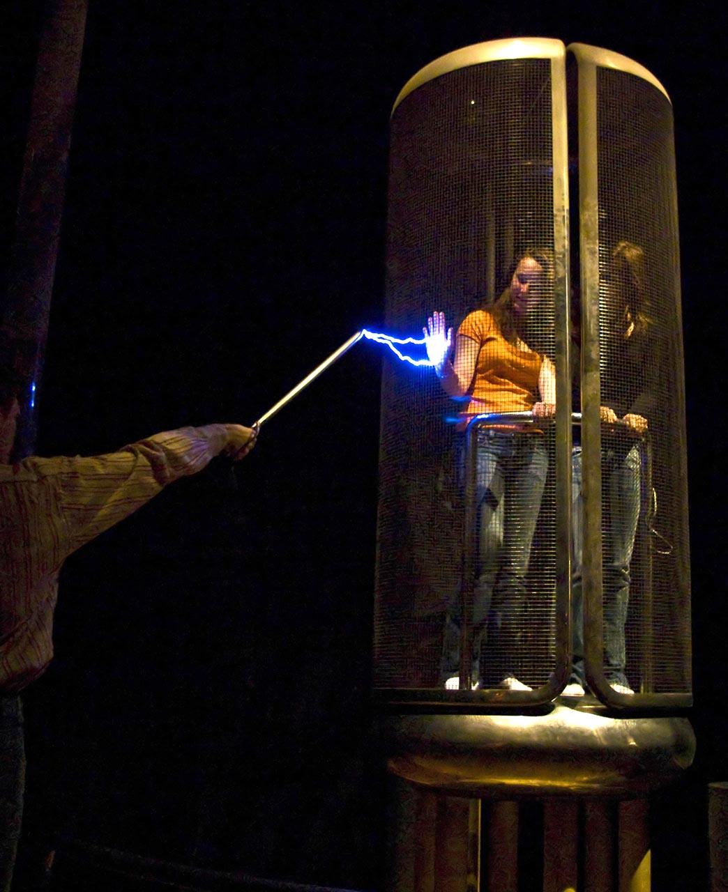 Faradayscher Käfig.