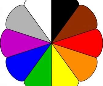 Symbol Farben ClipArt.