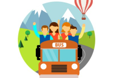 Ticket clipart bus fare, Ticket bus fare Transparent FREE.