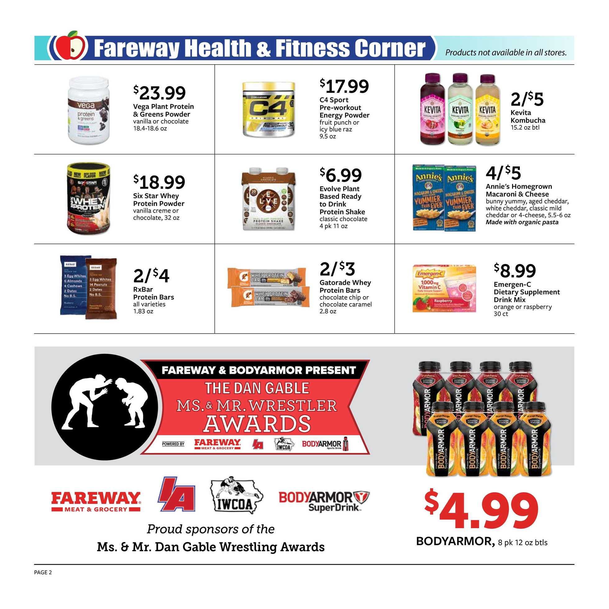 Current flyer of Fareway.