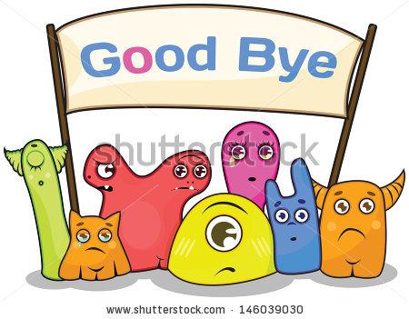 Goodbye Clip Art Free.