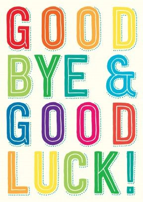 Funny Goodbye Clipart.