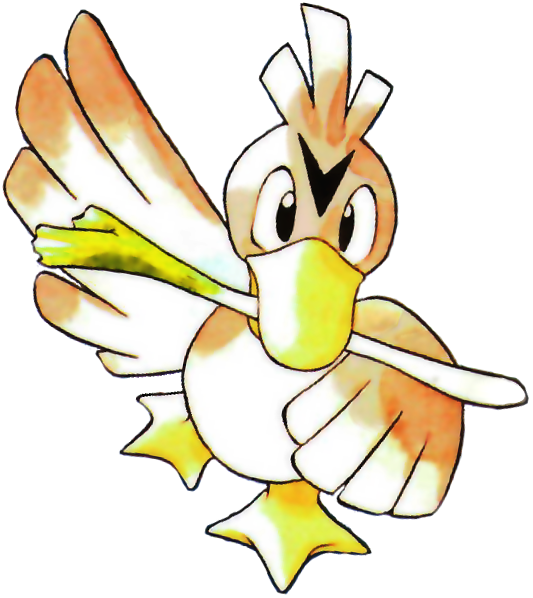 083 Farfetch'd used Acrobatics and Flail!.