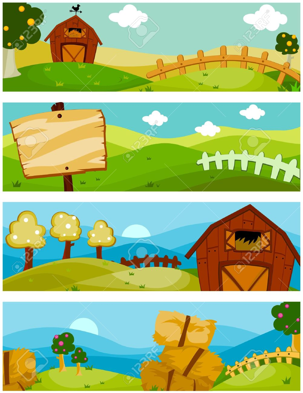 Farm agriculture nature clipart - Clipground
