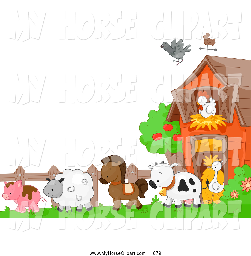 Free download Farm Animal Border Clip Art [1024x1044] for.