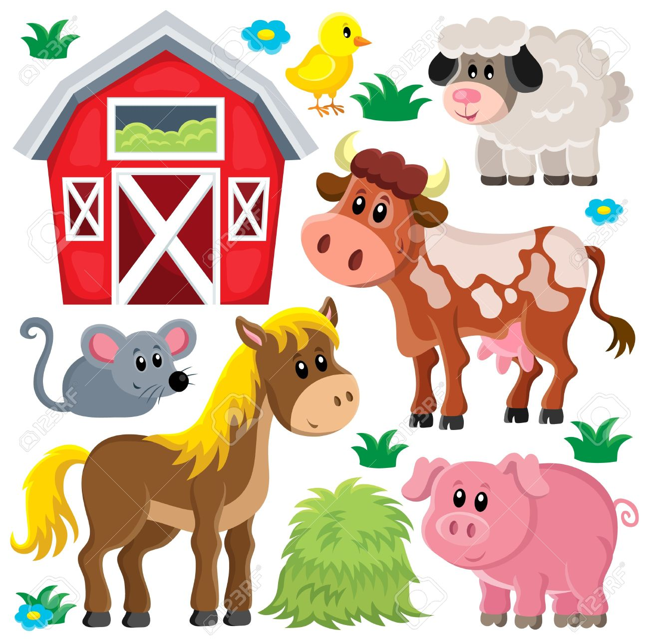 clipart pictures farm animals - photo #39