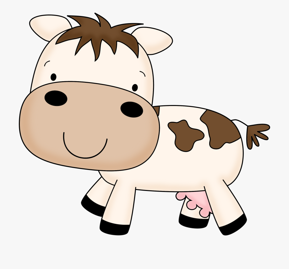Baby Cow Clipart.