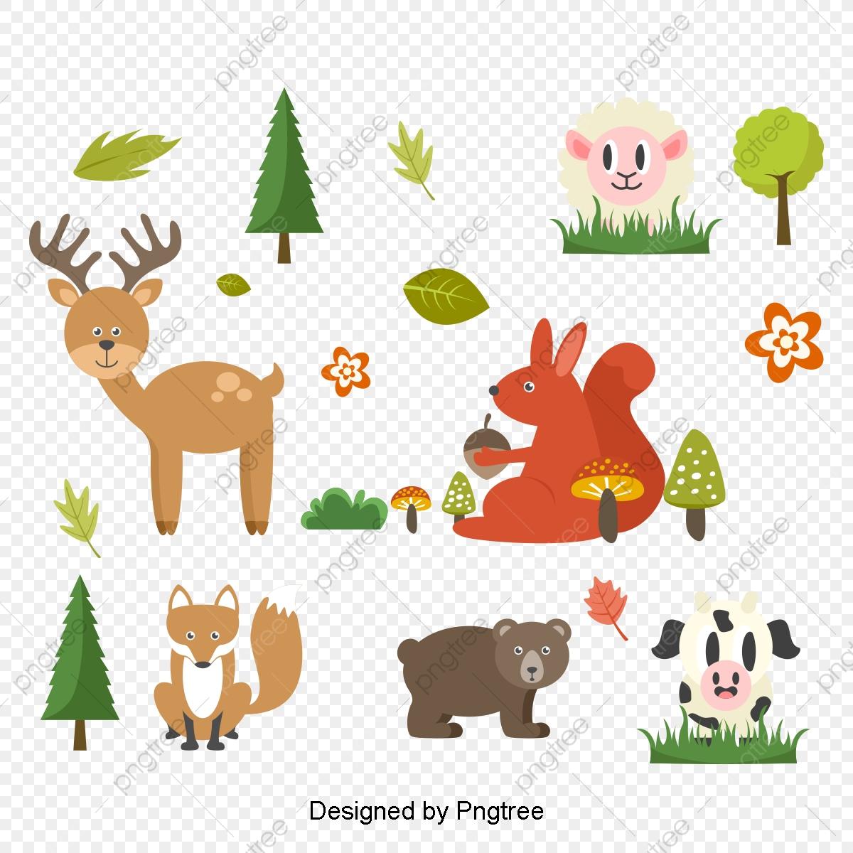 Vector Farm Animals, Farm Clipart, Vector Farm, Farm PNG and Vector.