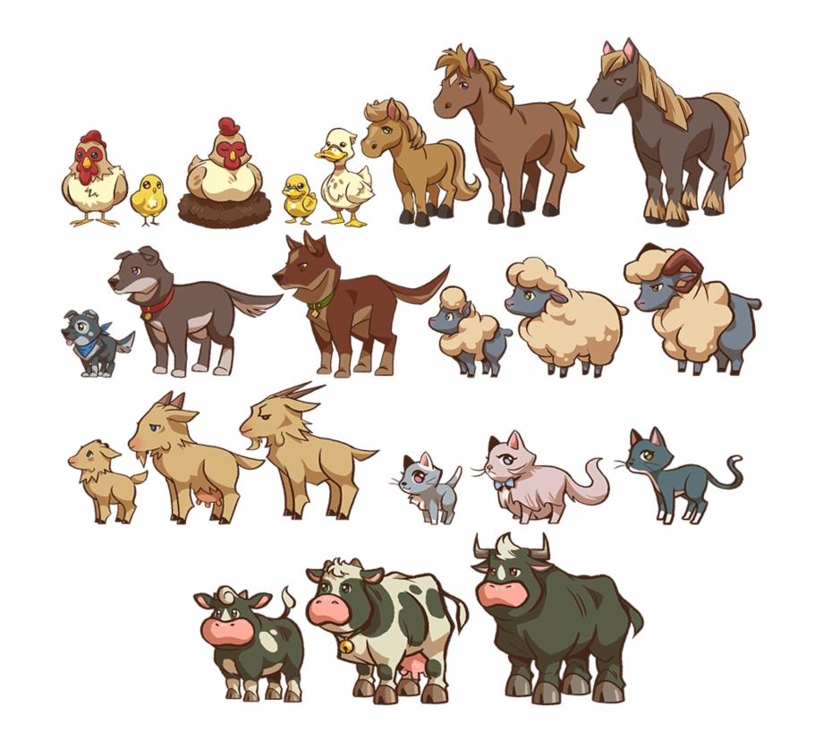 Animal Farm Animals , Png Download.