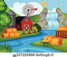 Farm Land Clip Art.