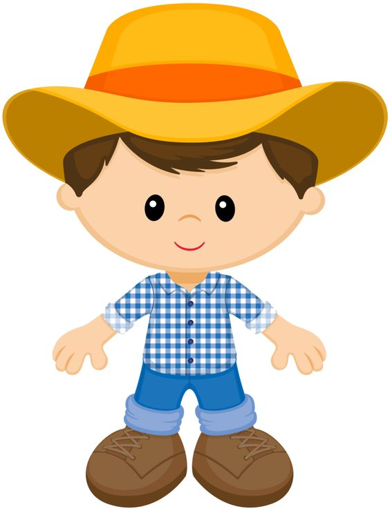 Farm Boy Clipart.