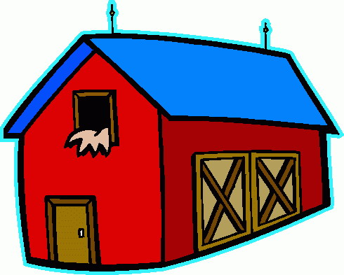 Farmhouse clipart.
