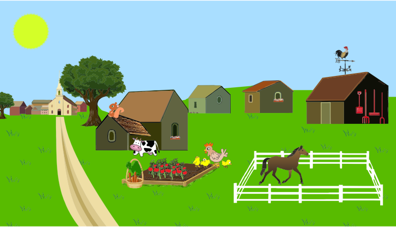 Free to Use & Public Domain Farm Clip Art.