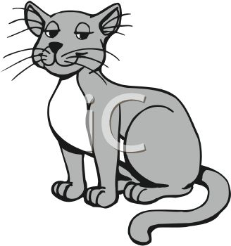 Farm Cat Clipart.