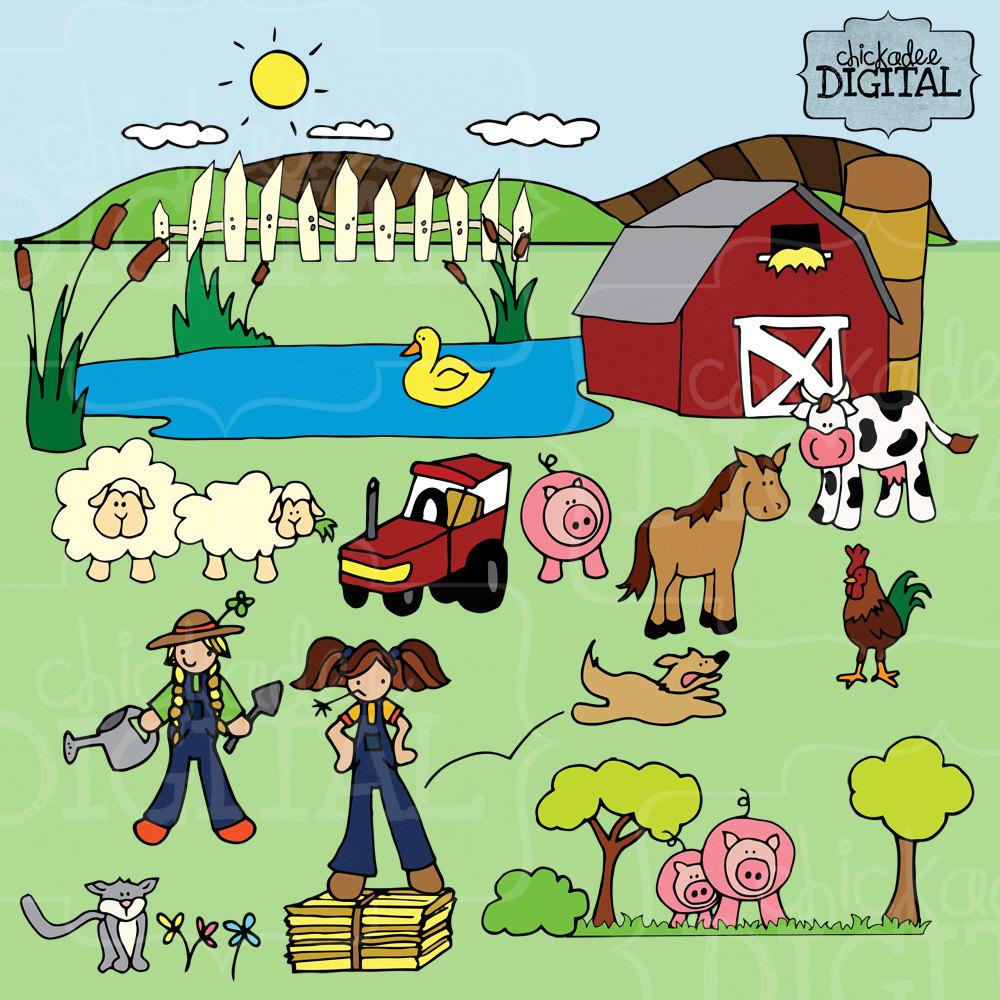 Farm clipart images.