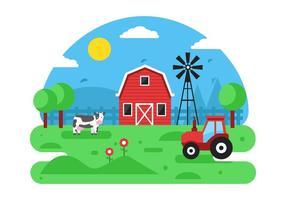 Farm Free Vector Art.