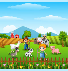 Farm Animals Clipart Vector Images (over 1,700).