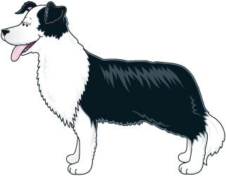 Dog Farm Clipart.