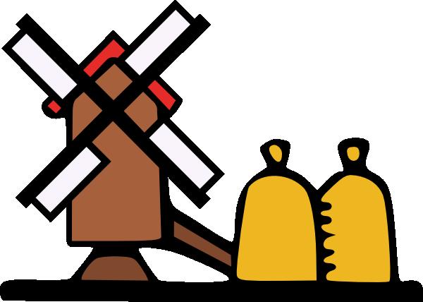 Farm Windmill Clipart.
