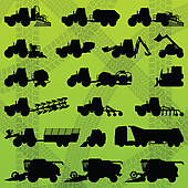 Farm Equipment Clip Art.