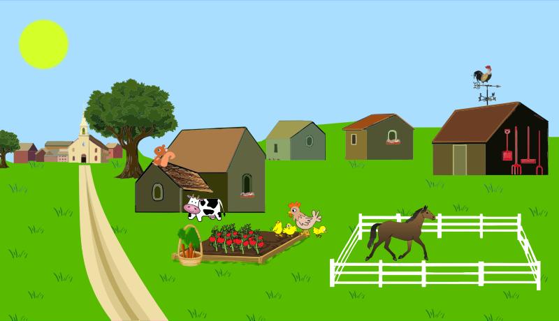 Farm free to use clip art.