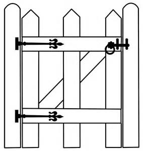 Farm Gate Clip Art http://hawaiidermatologycom/farm/farm gate clip.